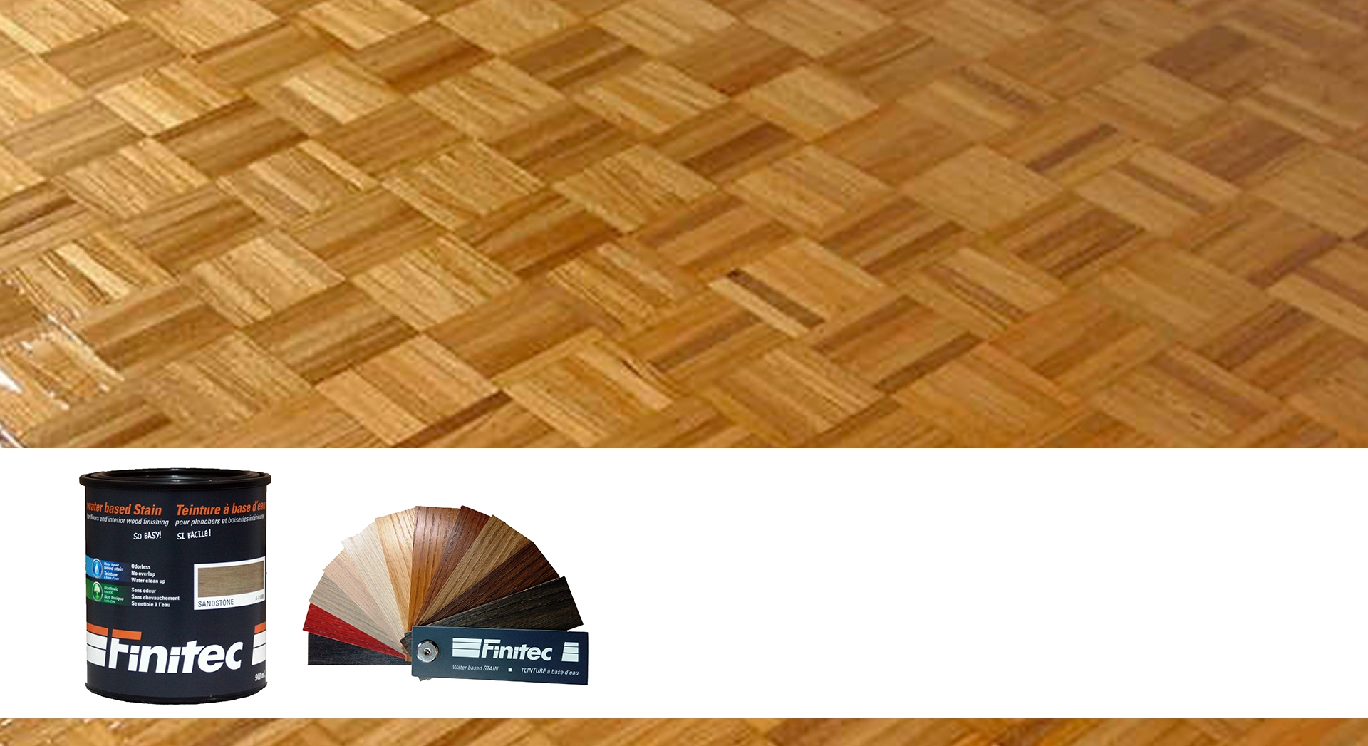 Tired of your parquet flooring? Give it a brand new look