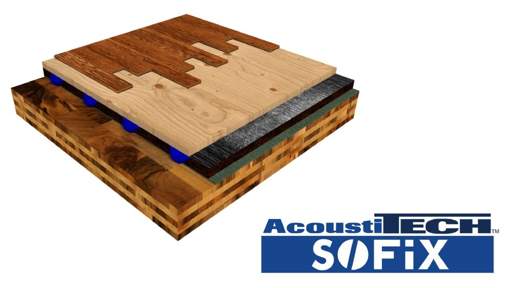 New sound insulation solution for mass timber buildings