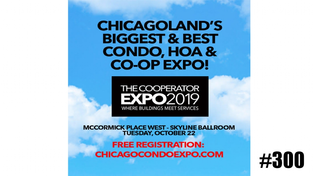 Experiencing noise problems in your condo in Chicago? Come see us at the Cooperator Expo Chicagoland