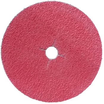 Ceramic edger disc
