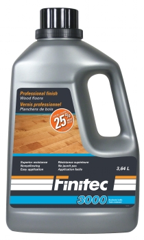 Finitec 3000 Vernis pour planchers de bois - Wood floor finish