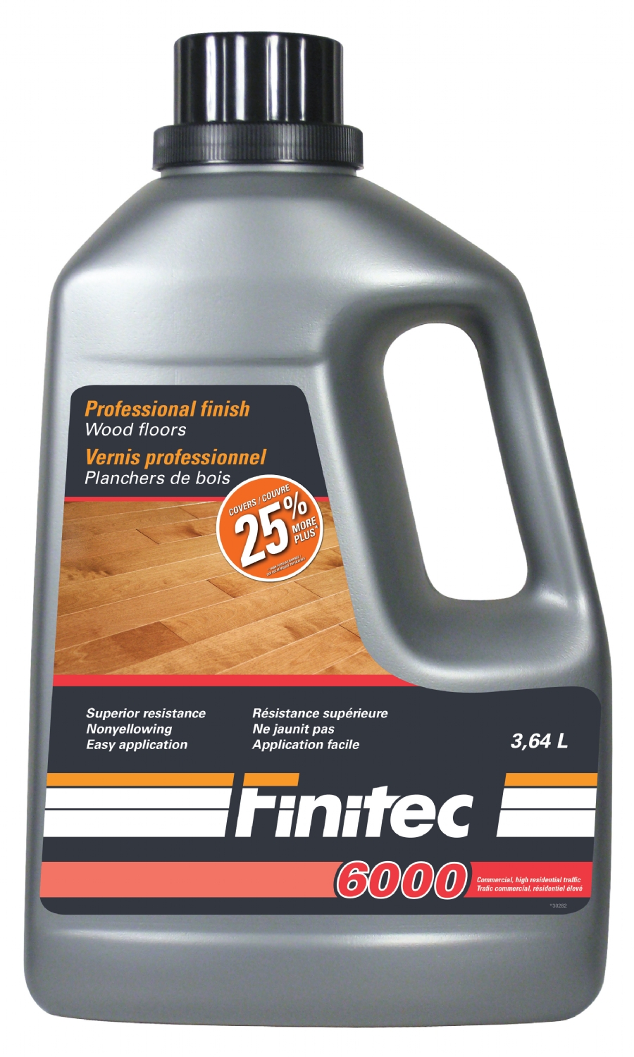 Finitec 6000 Vernis pour planchers de bois - Wood floor finish