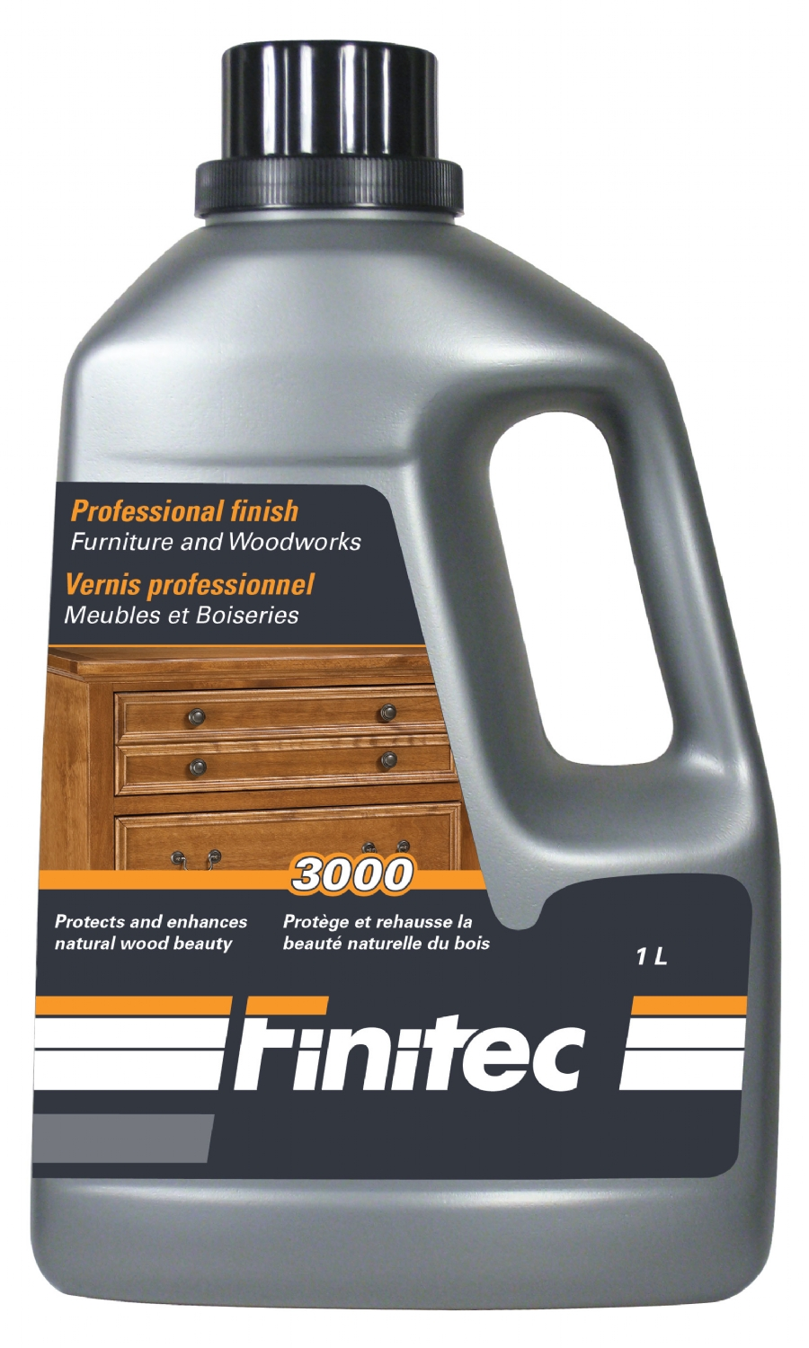 Finitec 3000 vernis pour Meubles et boiseries - finish for Furniture and Woodwork