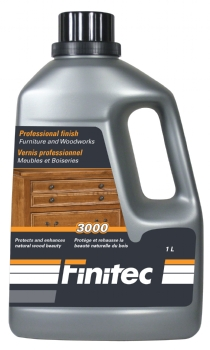 FINITEC 3000 FURNITURE & WOODWORK FINISH SEMI-GLOSS 1 L
