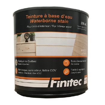 WATER BASED STAIN FOR INTERIOR WOOD FINISHING ARTIC 236 ML