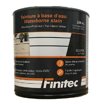 WATER BASED STAIN FOR INTERIOR WOOD FINISHING ECLIPSE 236 ML