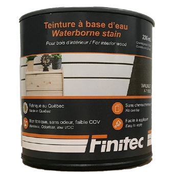 WATER BASED STAIN FOR INTERIOR WOOD FINISHING WALNUT 236 ML