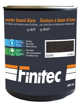 WATER BASED STAIN INTERIOR WOOD FINISHING ECLIPSE 940 ML