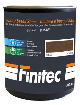 WATER BASED STAIN FOR INTERIOR WOOD FINISHING PECAN 940 ML