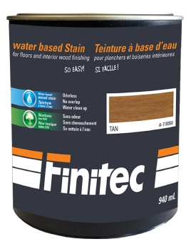 WATER BASED STAIN FOR INTERIOR WOOD FINISHING TAN 940 ML
