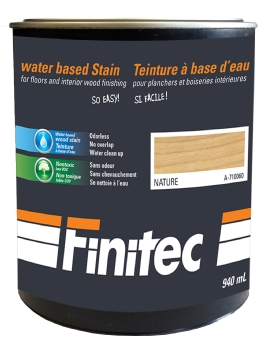 WATER BASED STAIN FOR INTERIOR WOOD FINISHING NATURE 940 ML