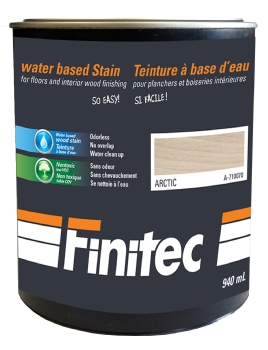 WATER BASED STAIN FOR INTERIOR WOOD FINISHING ARTIC 940 ML
